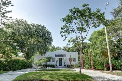 El Portal Single Family Home For Sale: 405 NE 90th St