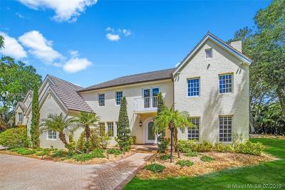Coral Gables Single Family Home For Sale: 6750 Granada Blvd