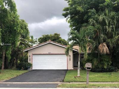 Coral Springs Single Family Home For Sale: 2893 NW 123rd Ave