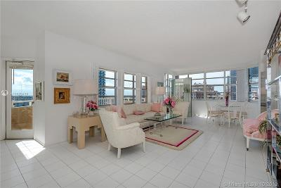 Hallandale Condo For Sale: 1950 Ocean #18F