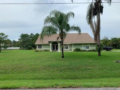 Loxahatchee Single Family Home For Sale: 17223 89th Pl N