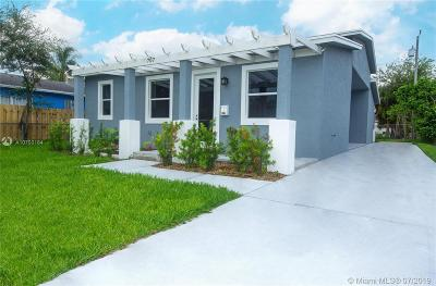 West Palm Beach Single Family Home For Sale: 707 39th Street