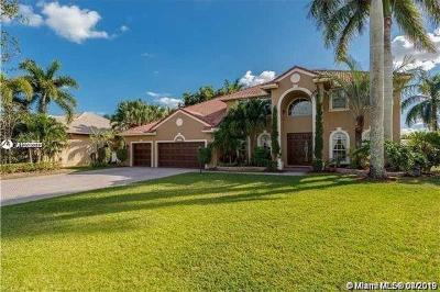 Pembroke Pines Single Family Home For Sale: 16574 Segovia Cir S