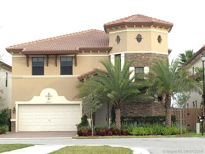 Doral Single Family Home For Sale: 9907 NW 87 Terrace