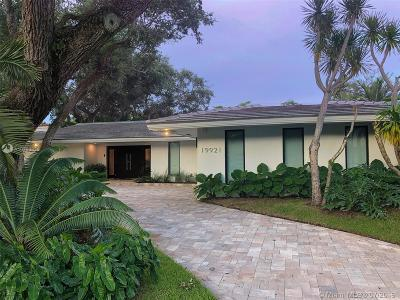 Miami Single Family Home For Sale: 19921 NE 22nd Ave