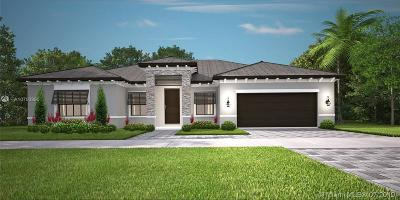 Miami Single Family Home For Sale: 10960 SW 168th Ter