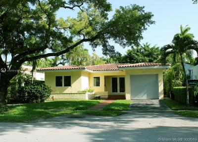 Coral Gables Single Family Home For Sale: 1330 Obispo Ave
