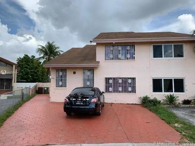 Hialeah Single Family Home For Sale: 3960 W 10th Dr