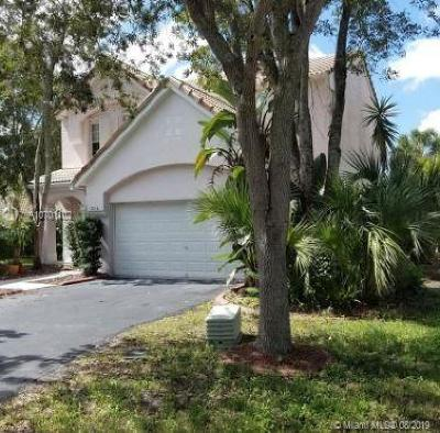 Coral Springs Single Family Home For Sale: 3716 Wilderness Way