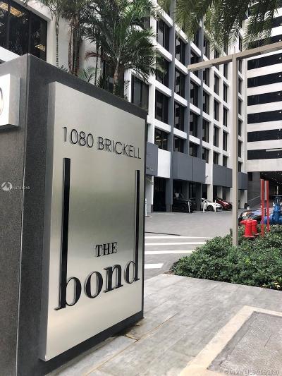 The Bond, The Bond (1080 Brickell), The Bondo (1080 Brickell), The Bond On Brickell, Bond 1080 Brickell Condo For Sale: 1080 Brickell Ave #4002