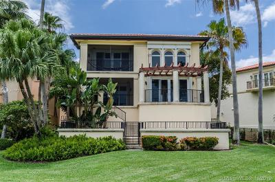 Coral Gables Single Family Home For Sale: 13673 Deering Bay Drive