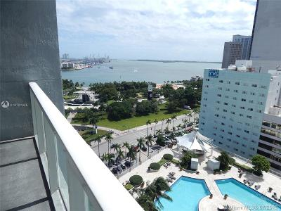 Vizcayne, Vizcayne North, Vizcayne North Condo, Everglades On The Bay Nor, Everglades On The Bay Nort Condo Active With Contract: 244 Biscayne Blvd #1907