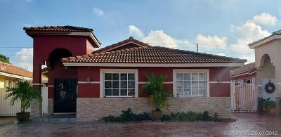 Hialeah Gardens Single Family Home For Sale: 12213 NW 97th Ct