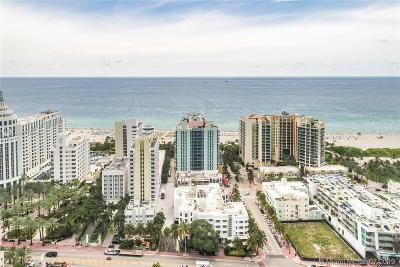 Miami Beach Condo For Sale: 1500 Ocean Dr #507