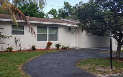 Plantation Single Family Home For Sale: 464 NW 46th Ter