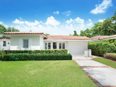 Coral Gables Single Family Home For Sale: 7720 Mindello Street