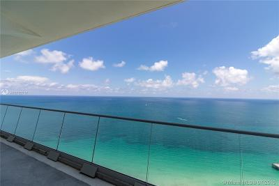 Sunny Isles Beach Rental For Rent: 16901 Collins Ave #4101