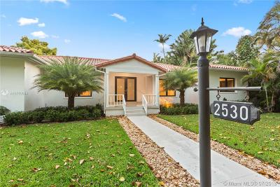 Coral Gables Single Family Home For Sale: 2530 Columbus Blvd