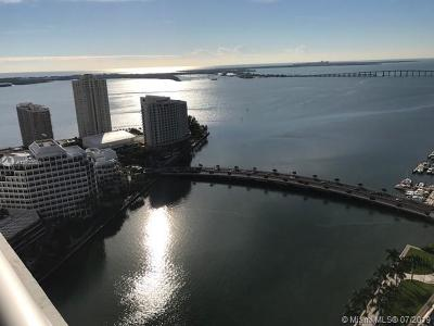Miami Rental For Rent: 495 Brickell Ave #3401