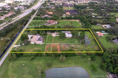 Southwest Ranches Multi Family Home For Sale: 14421 Old Sheridan Street