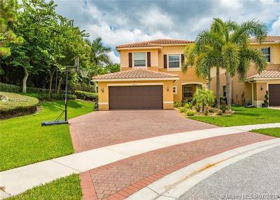 Boynton Beach Single Family Home For Sale: 8092 Brigamar Isles Ave