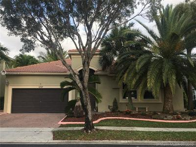 Pembroke Pines Single Family Home For Sale: 1253 SW 167th Ave
