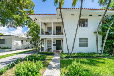 Aventura, Bal Harbour, Bay Harbor Islands, Coconut Grove, Coral Gables, Kendall, Key Biscayne, Miami Beach, Miami Shores, North Bay Village, Pinecrest, South Miami, Surfside Multi Family Home For Sale: 43 N Salamanca Ave.