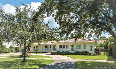Coral Gables Single Family Home For Sale: 6411 Riviera Drive