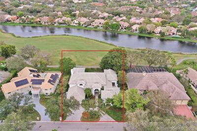 Coral Springs Single Family Home For Sale: 1855 Eagle Trace Blvd