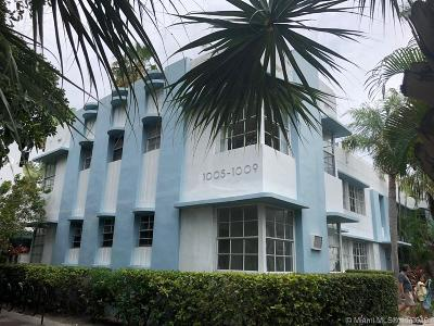Miami Beach Condo For Sale: 1009 E Meridian Ave #16