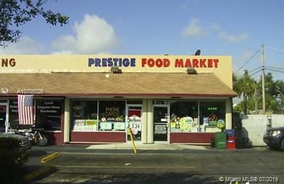 North Miami Beach Business Opportunity For Sale: 16784 NE 2
