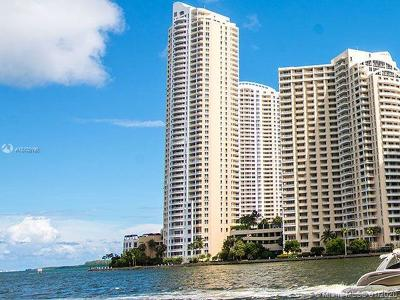 Miami Rental For Rent: 848 Brickell Key Dr #3702