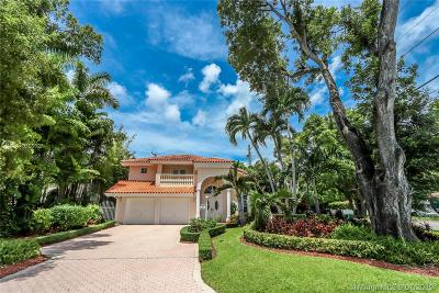 Coral Gables Single Family Home For Sale: 4002 Anderson Rd