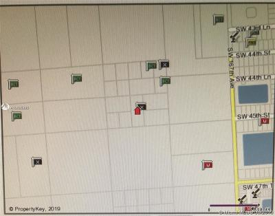 Miami Residential Lots & Land For Sale: 168xx SW 45 St