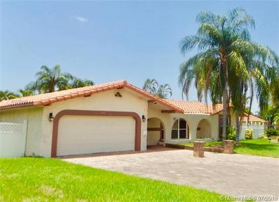 Coral Springs Single Family Home For Sale: 3620 NW 111th Ave