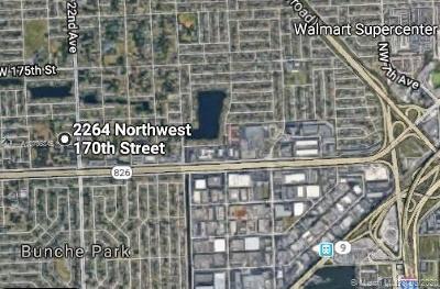 Miami Gardens Single Family Home For Sale: 2264 NW 170