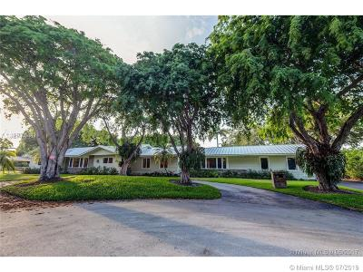 Pinecrest Single Family Home For Sale: 7575 SW 115th St