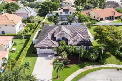 Pembroke Pines Single Family Home For Sale: 17913 NW 11th St