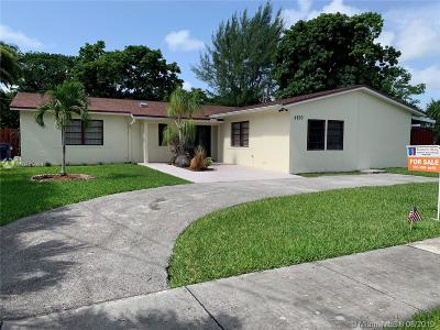 Cutler Bay Single Family Home For Sale: 9750 SW 189th St