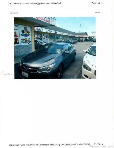 Hialeah Business Opportunity For Sale: 543 E 9th St