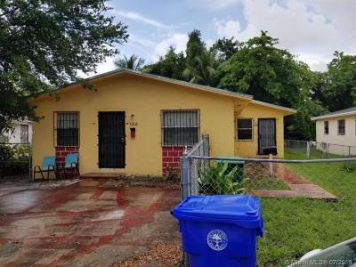 Biscayne Gardens, Biscayne Park, Briny Breezes, Cutler Bay, Doral, Eastern Shores, Hialeah, Hialeah Gardens, Miami, North Miami, North Miami Beach, Sweetwater, Unincorporated Dade County, West Miami Multi Family Home For Sale: 122 NW 61st St