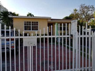 Miami Single Family Home For Sale: 20 NW 58th Ct