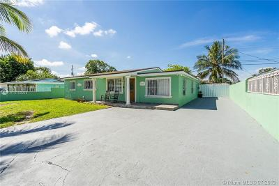 Miami Gardens Single Family Home For Sale: 3460 NW 171st Ter