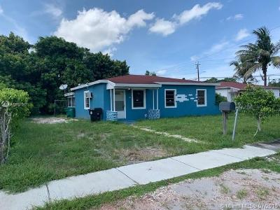 North Miami Beach Single Family Home For Sale: 981 NE 156th Ter