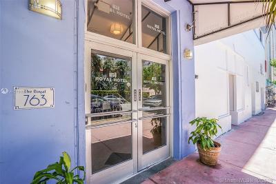 Miami Beach Condo For Sale: 763 Pennsylvania Ave #334