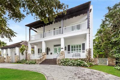 Coral Gables, South Miami Single Family Home For Sale: 120 N Prospect Dr