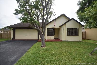 Miami Single Family Home For Sale: 13522 SW 112th Pl