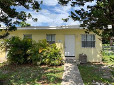 Coconut Grove Multi Family Home For Sale: 3130 & 3132 Plaza St