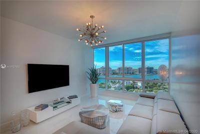 Miami Beach Condo For Sale: 100 S Pointe Dr #903