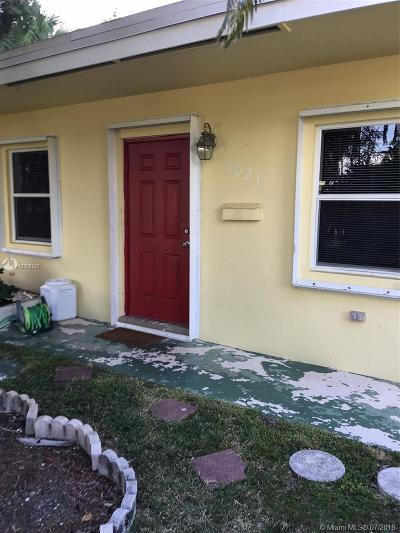 Fort Lauderdale Multi Family Home For Sale: 1021 SW 29th St